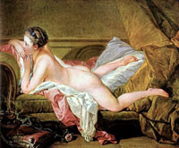 Reserve, neither Boucher nude on sofa what